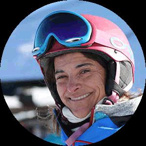 Marta C professora de ski Sierra Nevada