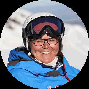 Patricia C professora de ski Serra Nevada