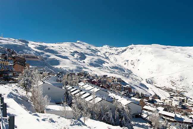Estância de ski Pradollano Serra Nevada