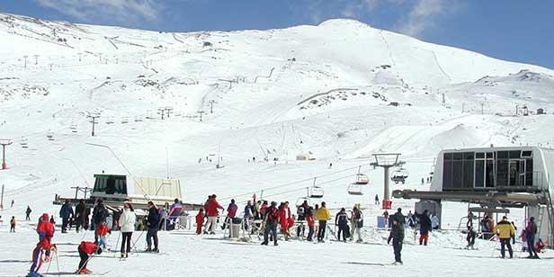 Aulas de esqui em português em Serra Nevada