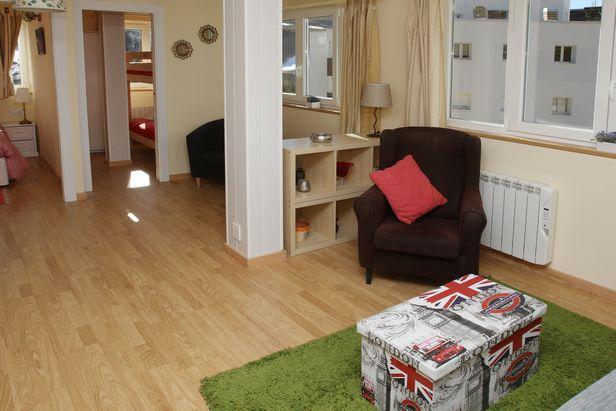 Apartamento Slalom. Encantador apartamento luminoso e espaçoso com uma localização privilegiada Sierra Nevada