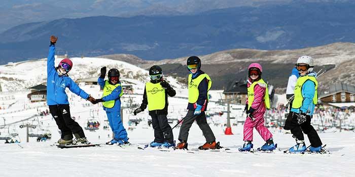 Cursos de ski em português serra nevada