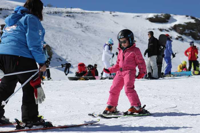 Aulas particulares de ski em português sierra nevada