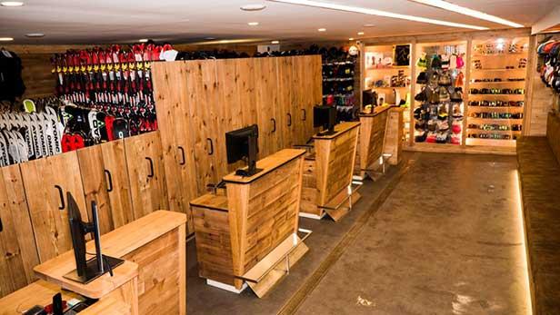 Aluguer de material de ski e snowboard